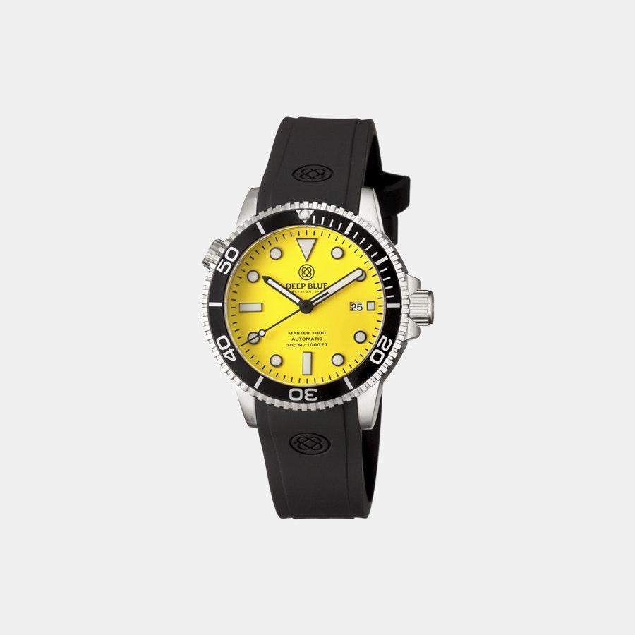 Yellow matte dial