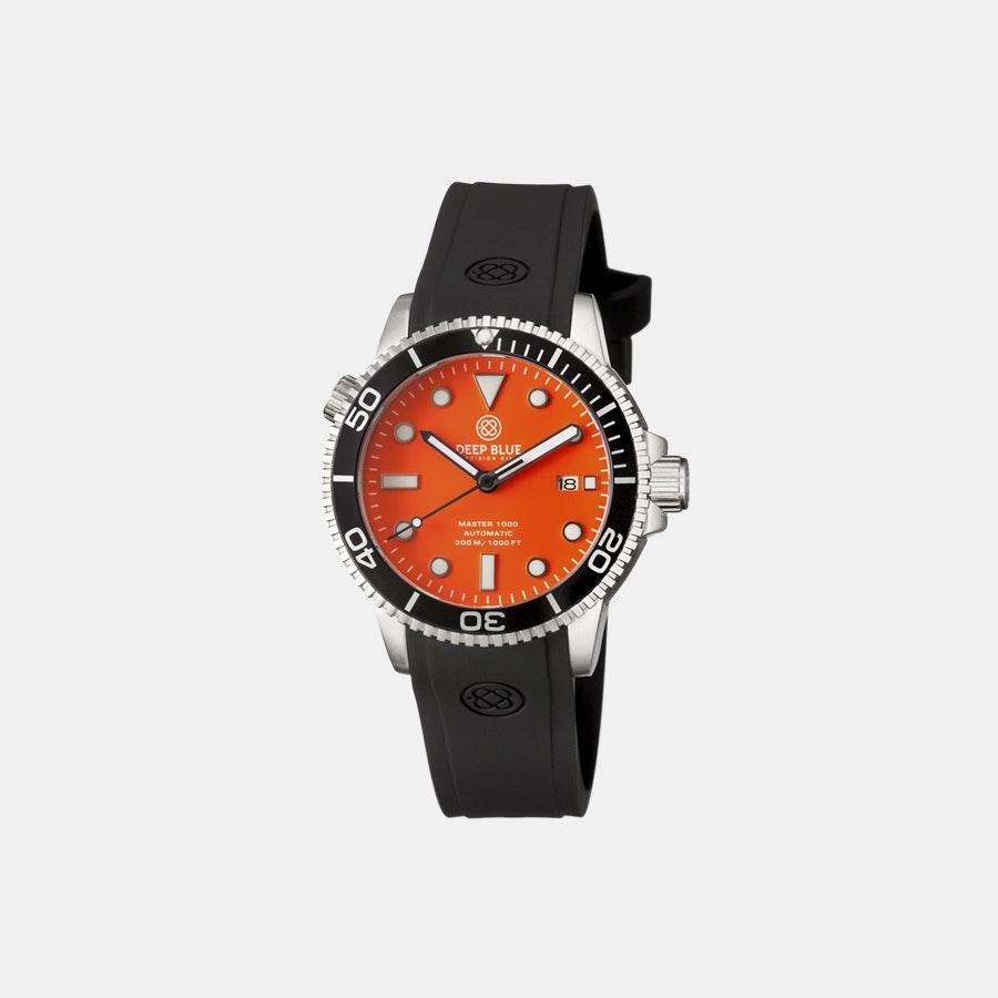 Orange matte dial