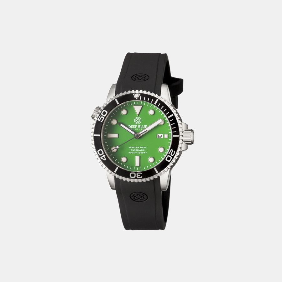 Green matte dial