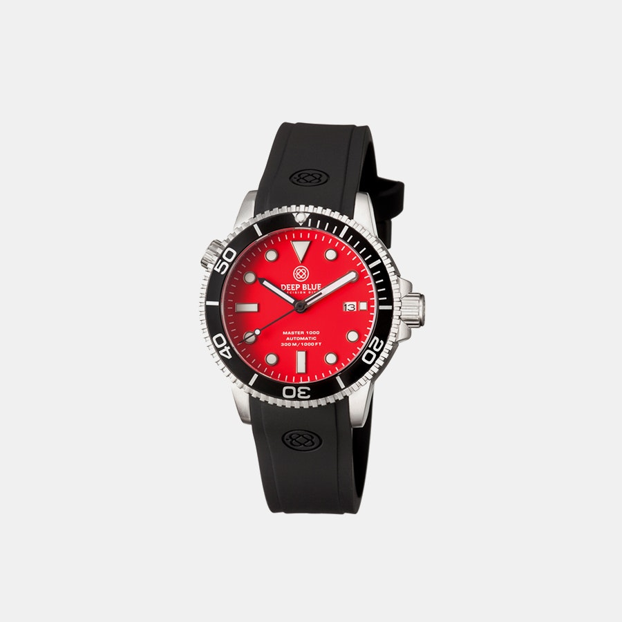 Red matte dial