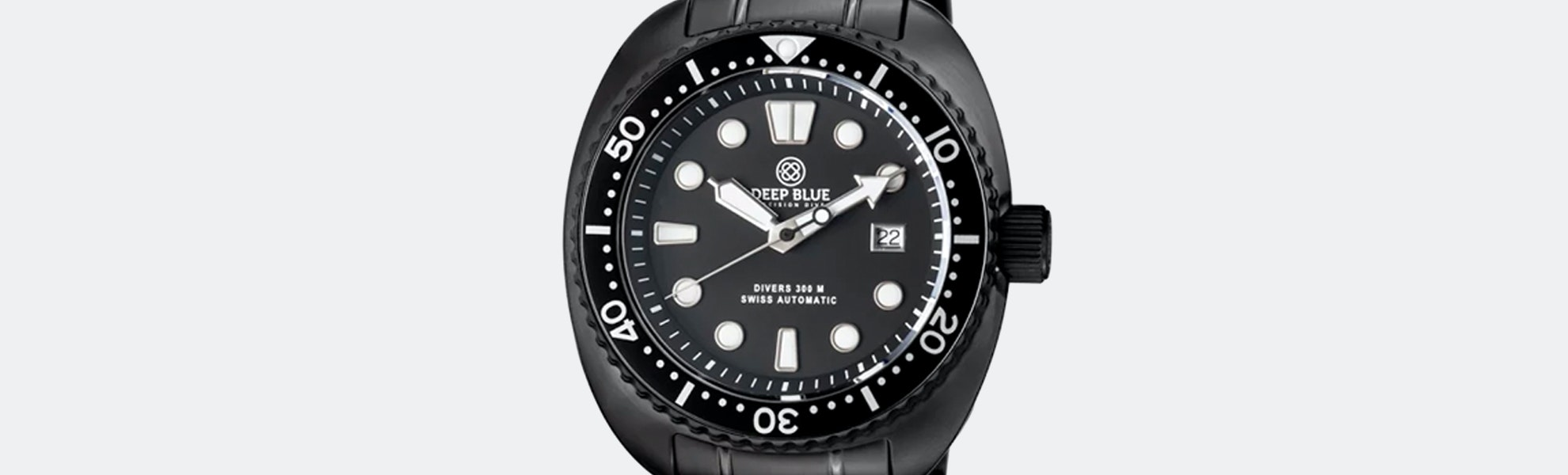 Deep Blue Military Diver 300 Automatic Watch