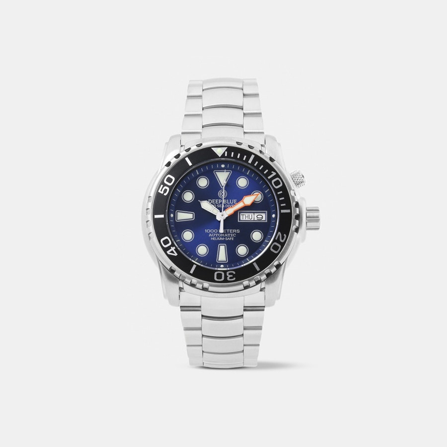 Deep Blue Pro Sea Diver 1000M Automatic Watch