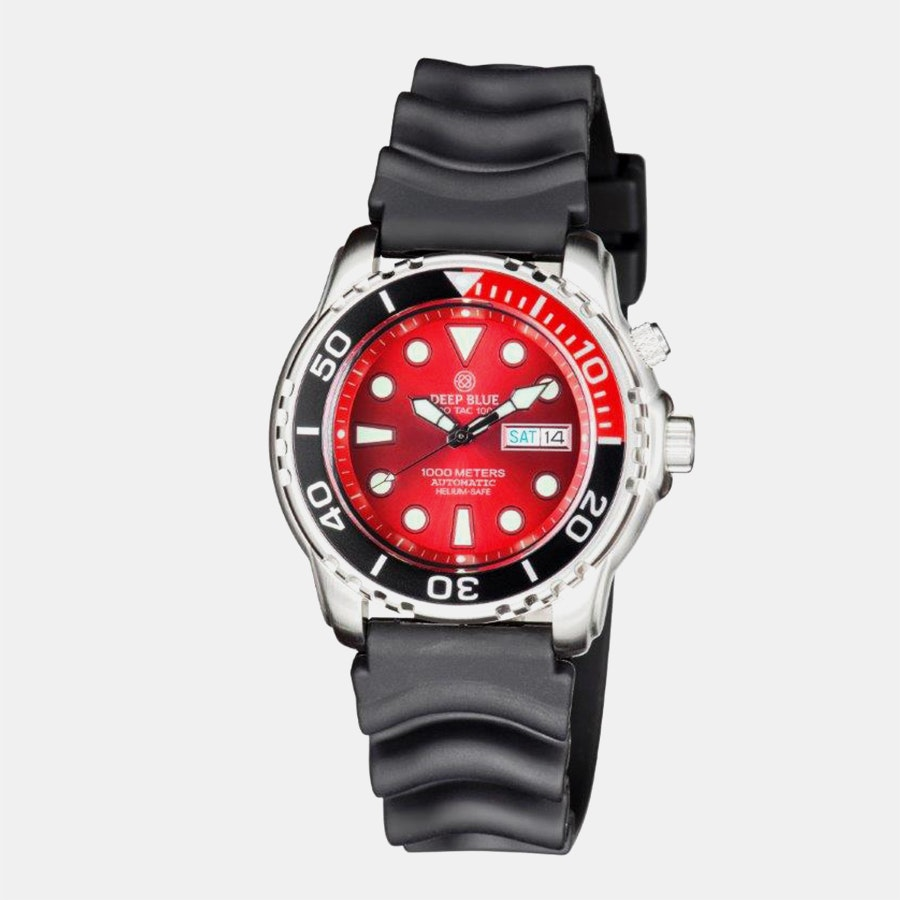 Black & Red Bezel/Red Dial