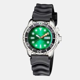 Black Bezel/Green Dial