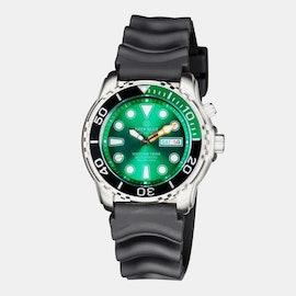 Black & Green Bezel/Green Dial