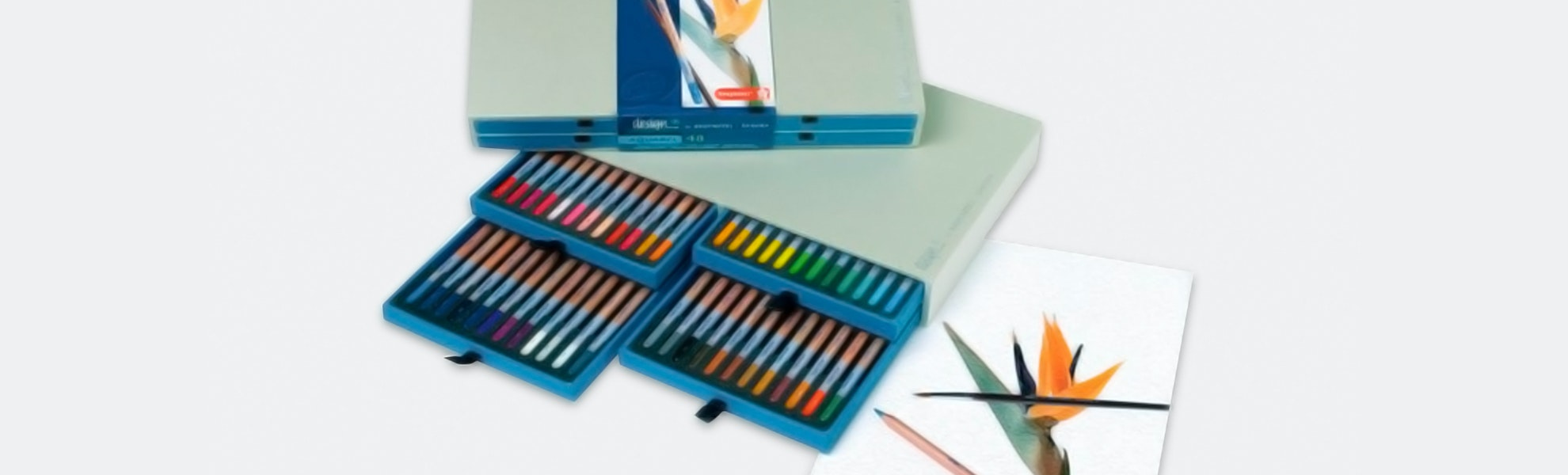 Design Aquarel Pencil Set By Bruynzeel (48 Count)