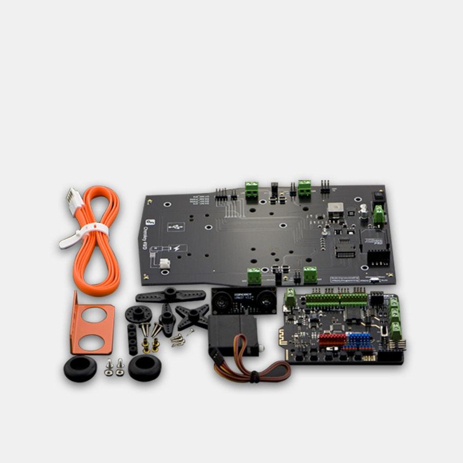 DFRobot Cherokey 4WD Arduino Basic Robot Kit | Price