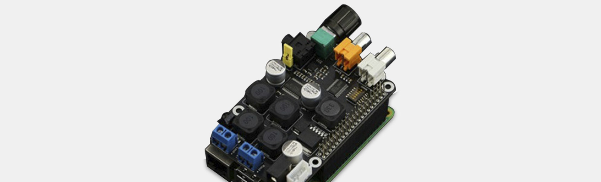 DFRobot Audio Expansion Shields for Raspberry Pi
