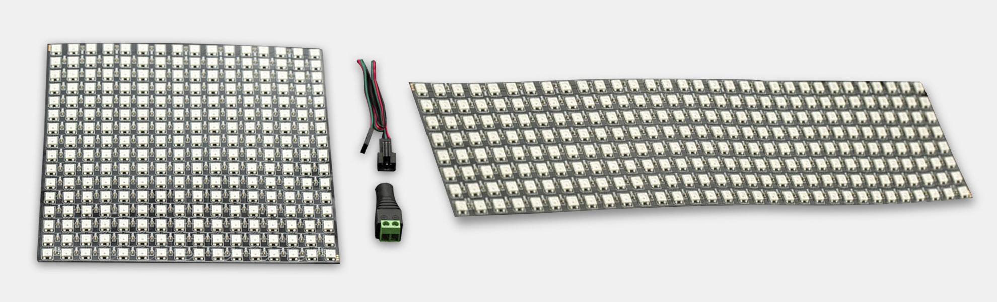 DFRobot Gravity Flexible RGB LED Matrix Panels