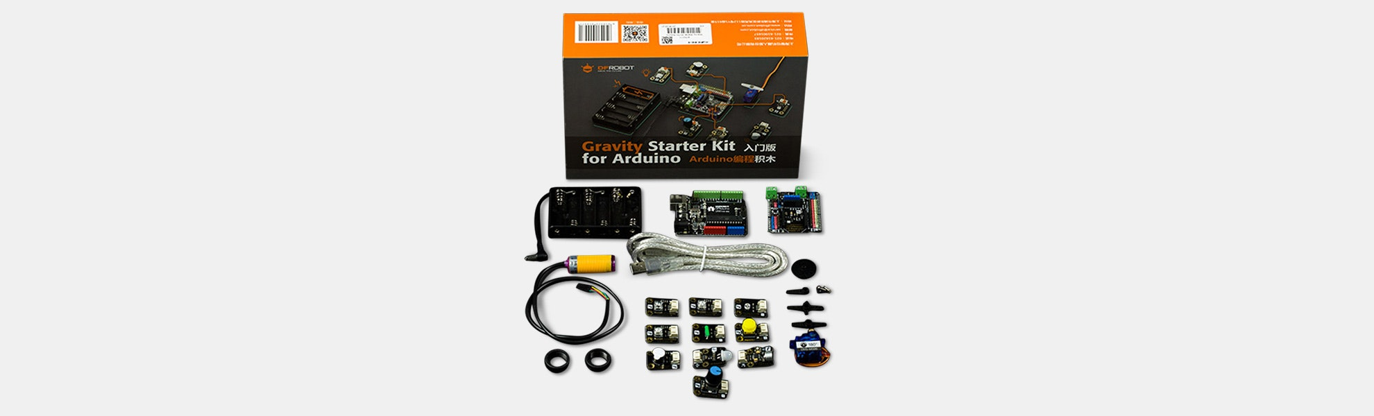 DFRobot Gravity: Starter Kit for Arduino