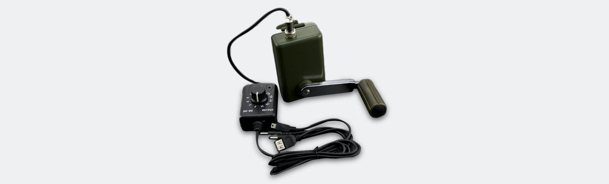 DFRobot Portable Hand-Crank Power Generator