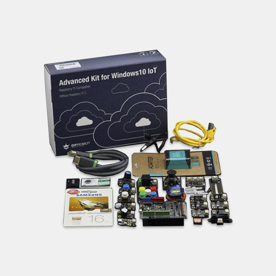 DFRobot Raspberry Pi Kit (Windows 10 IoT)