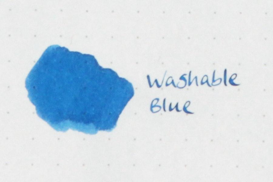 Washable Blue