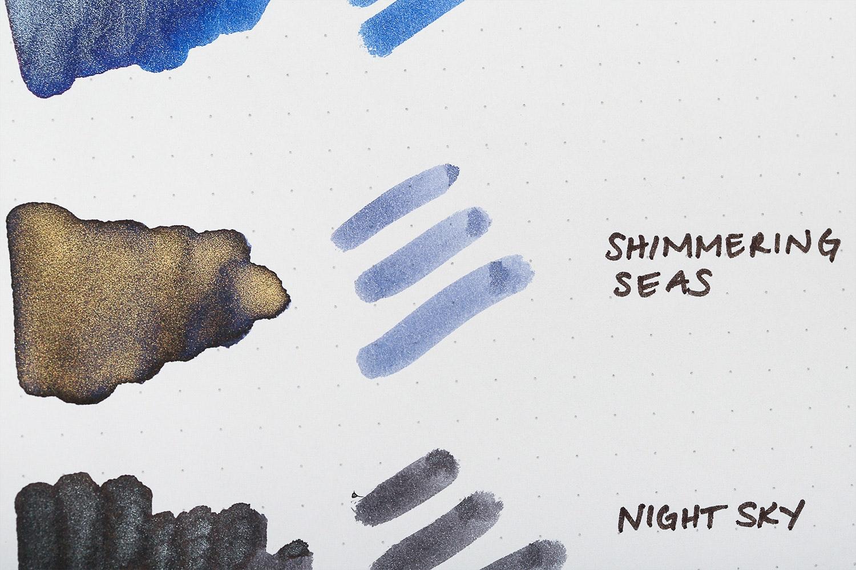 Shimmering Seas