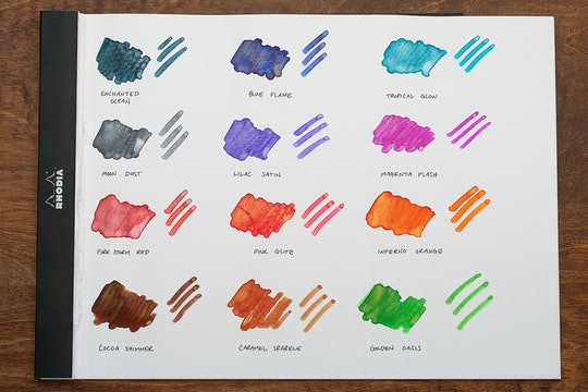 Diamine Shimmering Ink (3-Pack)