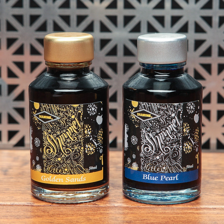 Diamine Shimmertastic Ink (2-Pack)