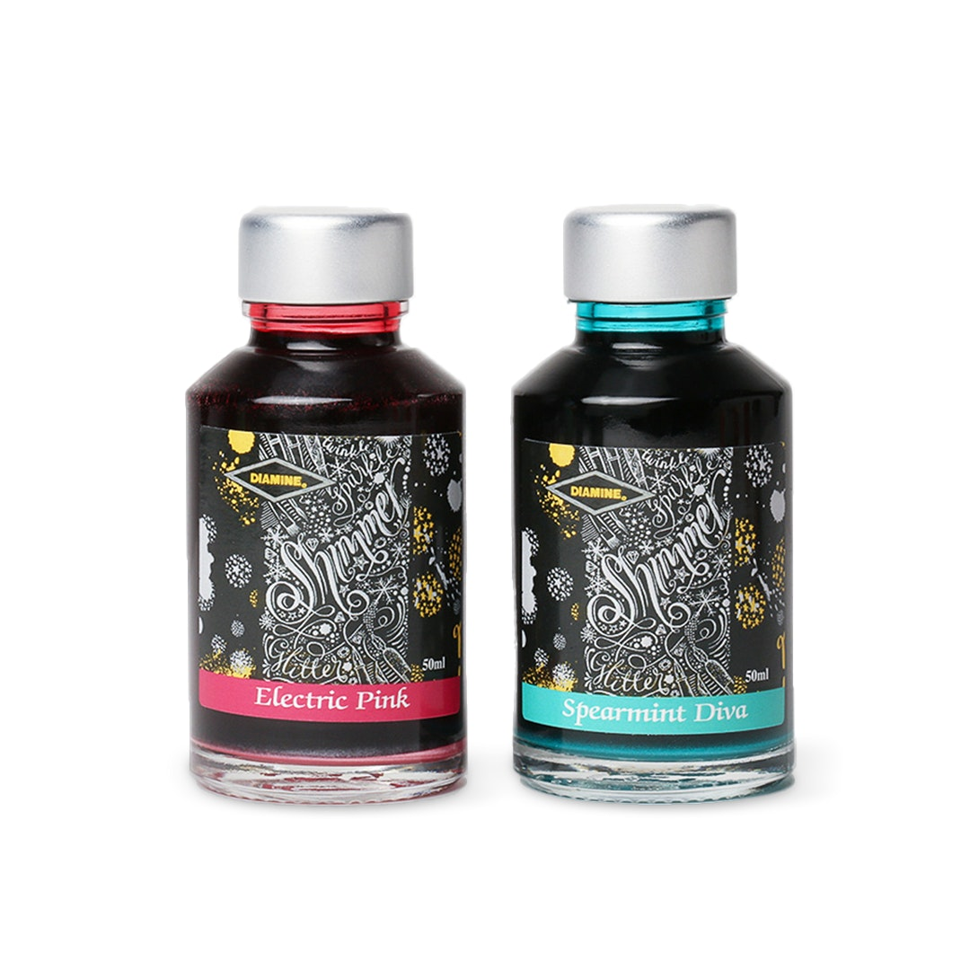 Diamine Shimmering Ink (2-Pack)