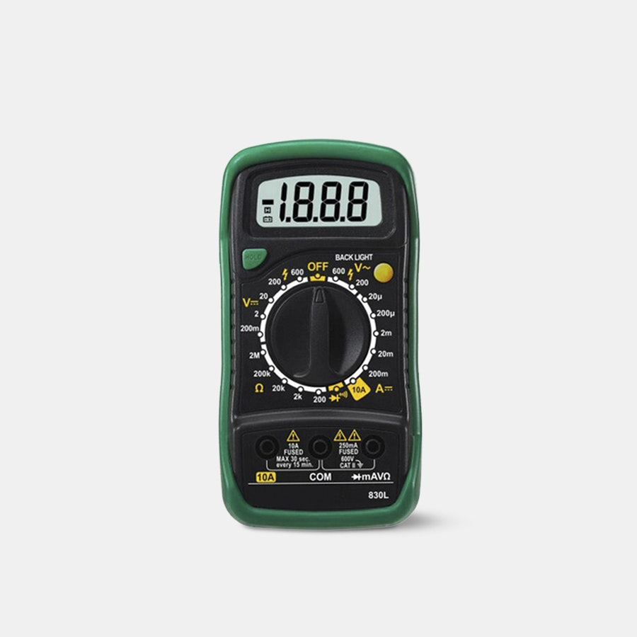 Digital LCD Multimeter MAS830L