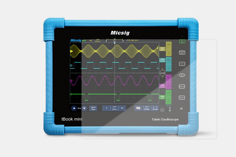Digital Tablet Oscilloscope 100Mhz 4ch 28Mpts