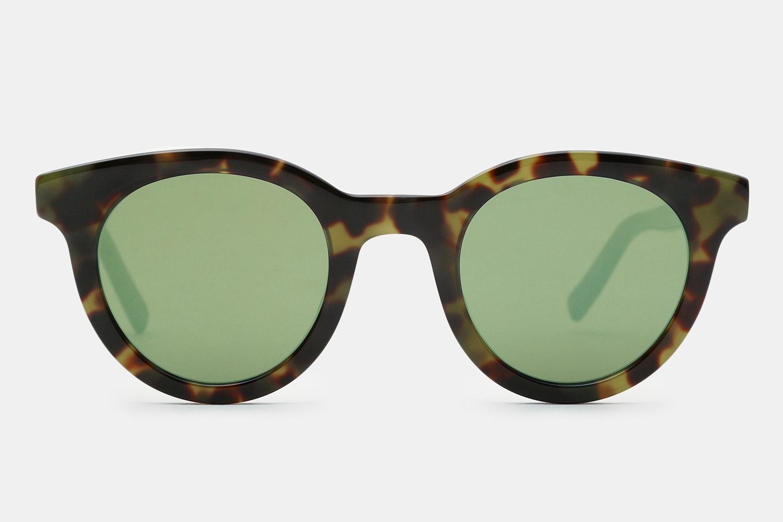 Green Havana Black/Green Mirror lenses