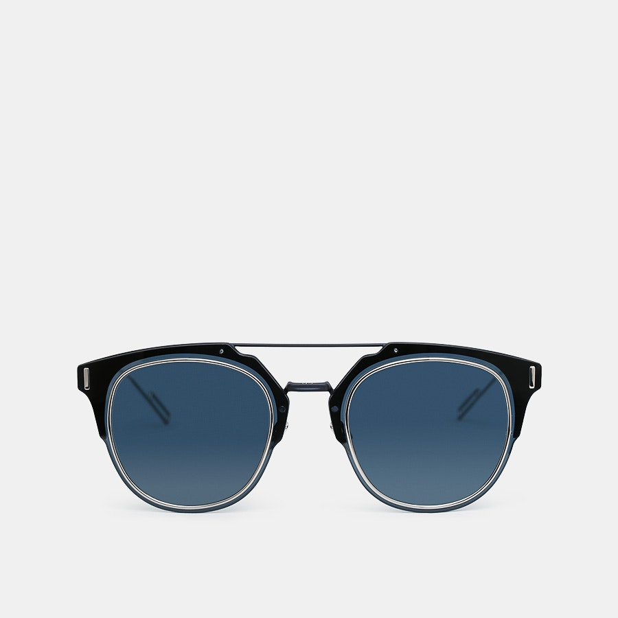 Dior Homme Composit 1.0 Modern Panto Sunglasses