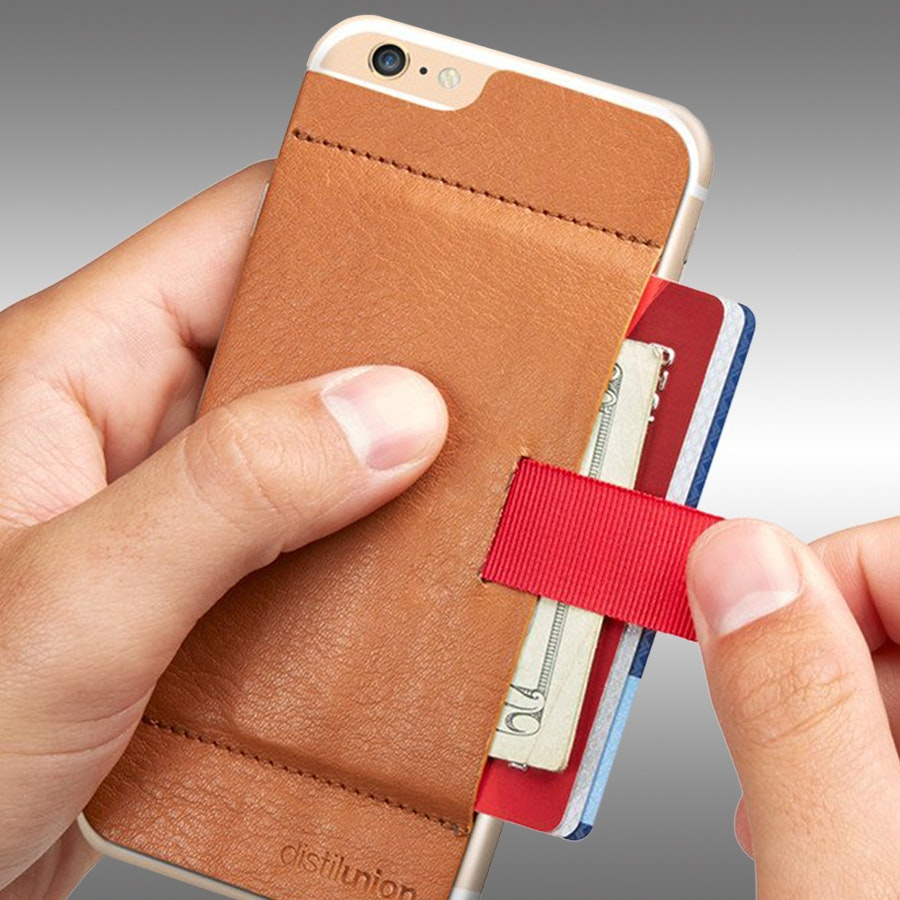 Distil Union Wally Wallet iPhone Case & Stick-On