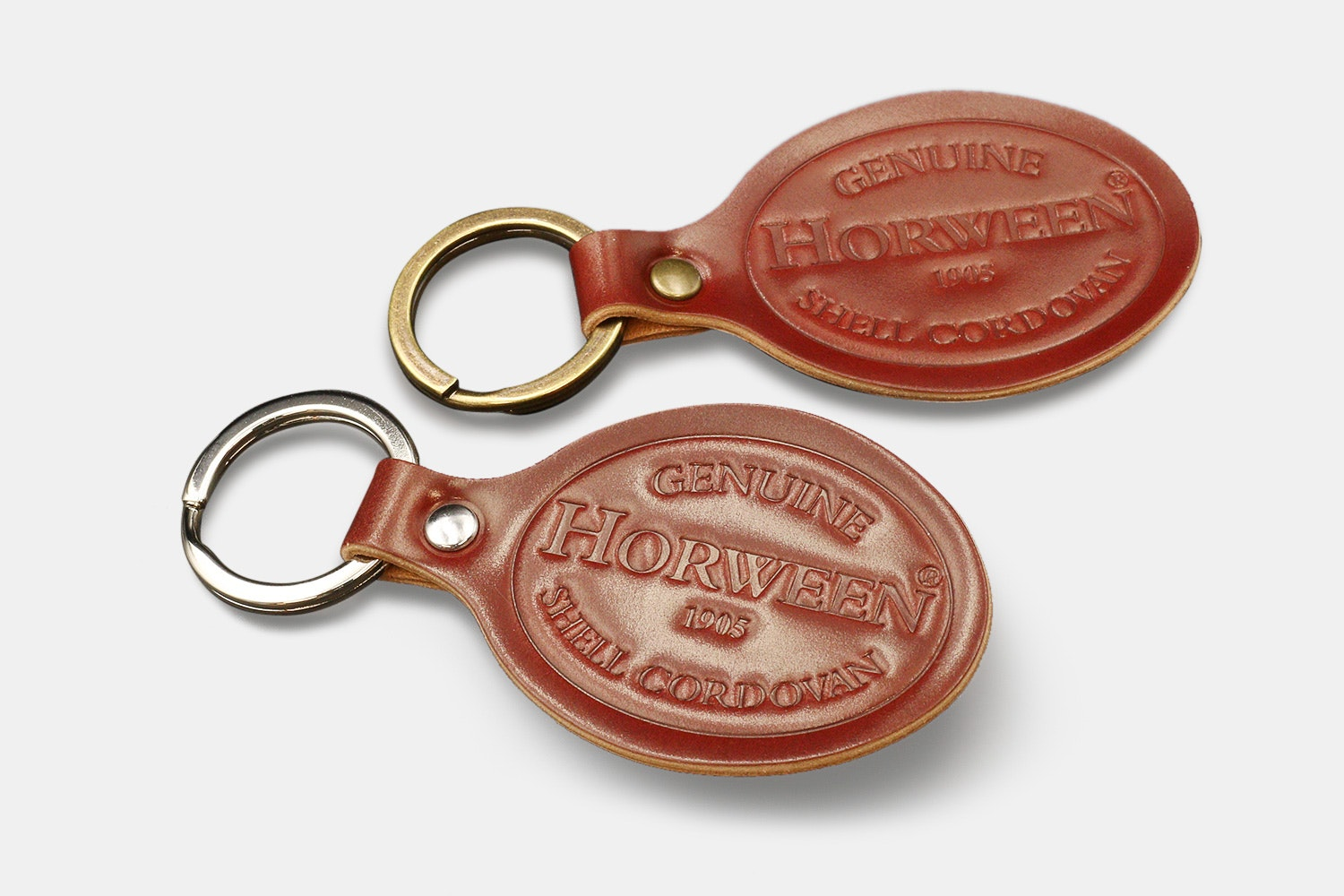 District Leather Horween Shell Cordovan Key Fob