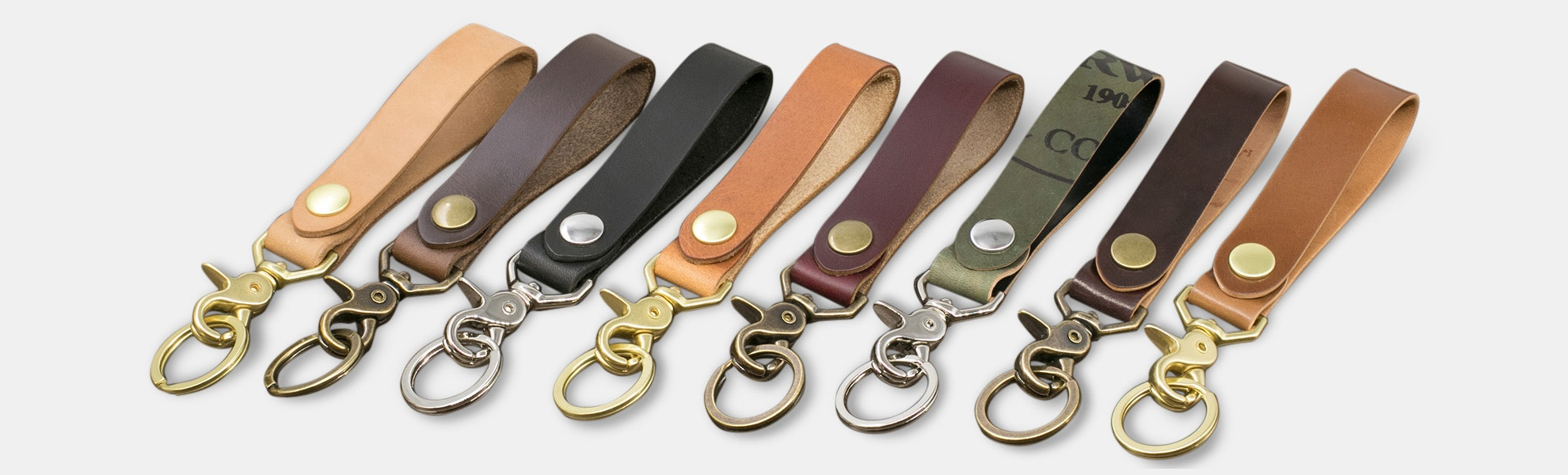 District Leather Horween Keychain