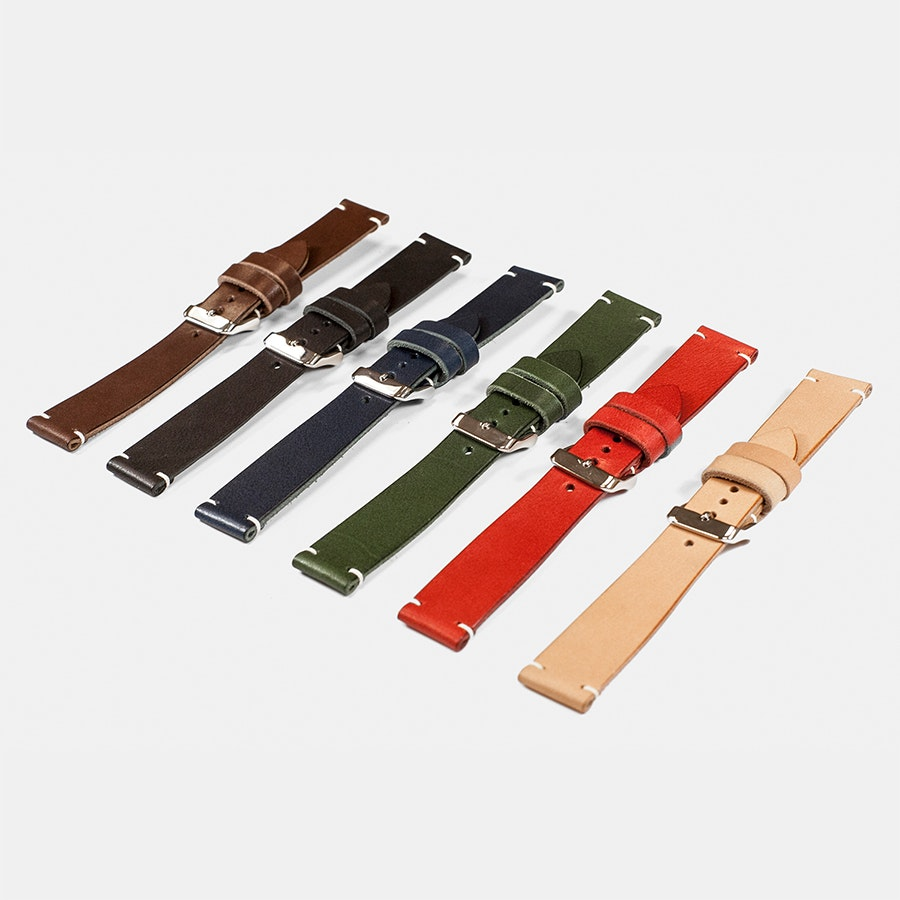 District Leather Tochigi Leather Watch Straps