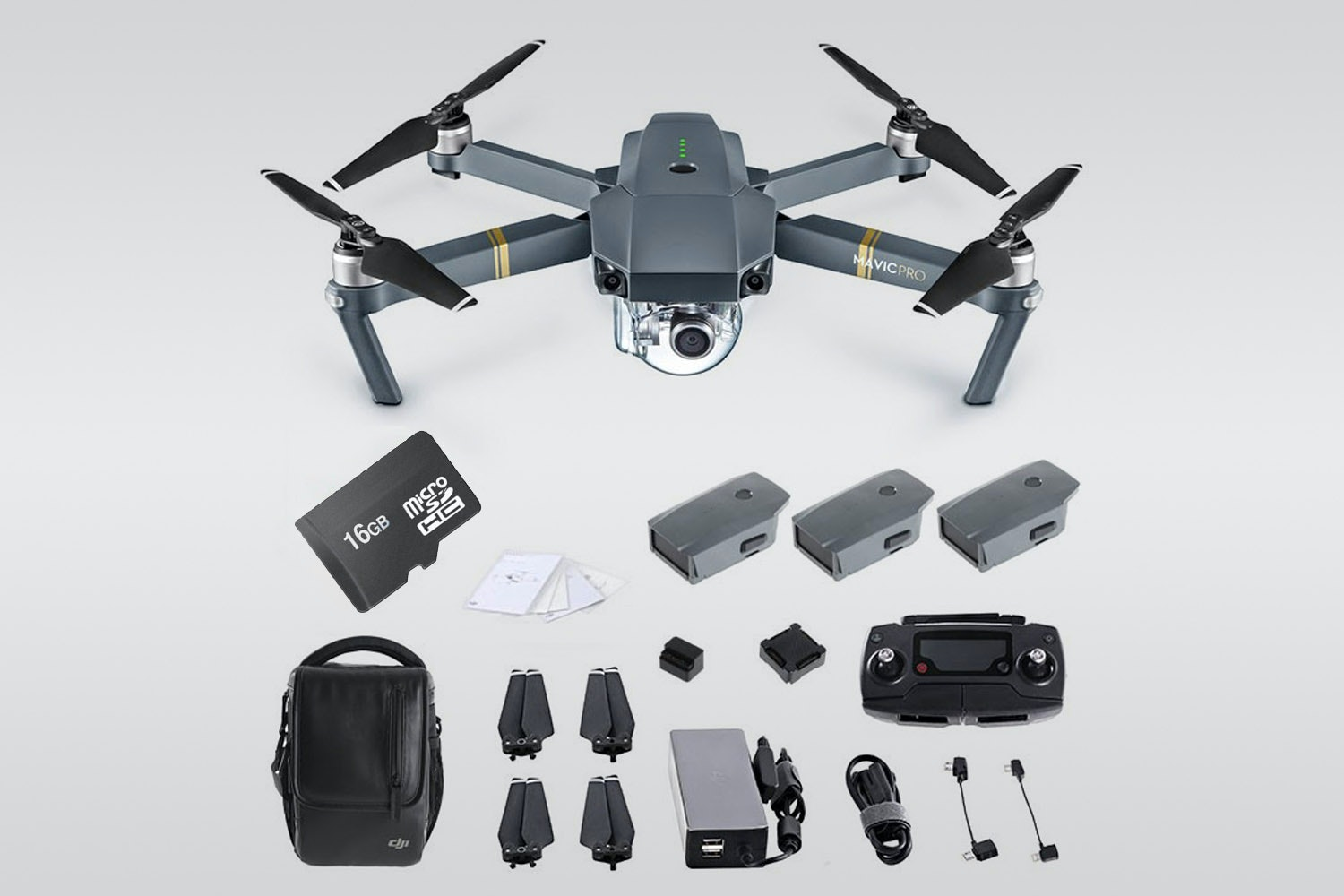 DJI Mavic Pro Fly More Bundle (+ $270)