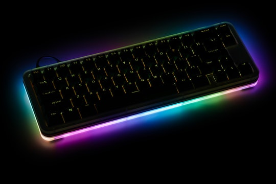 DNA65 RGB Stacked Acrylic Mechanical Keyboard