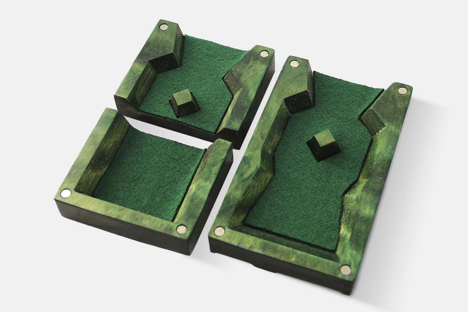 Dog Might Fiery Moss Dice Tower