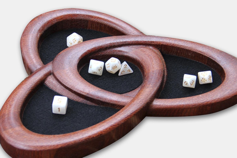 Dog Might White Ash Custom Dragon Tray