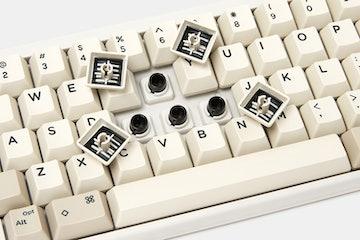 DOMIKEY 1980S ABS Doubleshot HHKB Keycap Set
