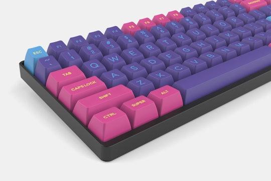 DOMIKEY ABS Doubleshot SA Cyberpunk Pumper Keycap Set