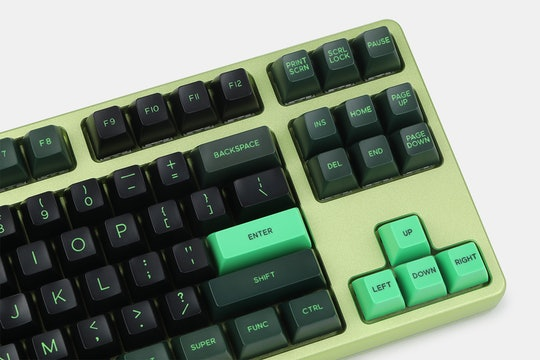 DOMIKEY ABS Doubleshot SA Semiconductor Keycap Set