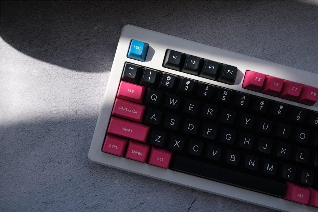 DOMIKEY ABS Doubleshot SA Unbeatable Miami Keycap Set