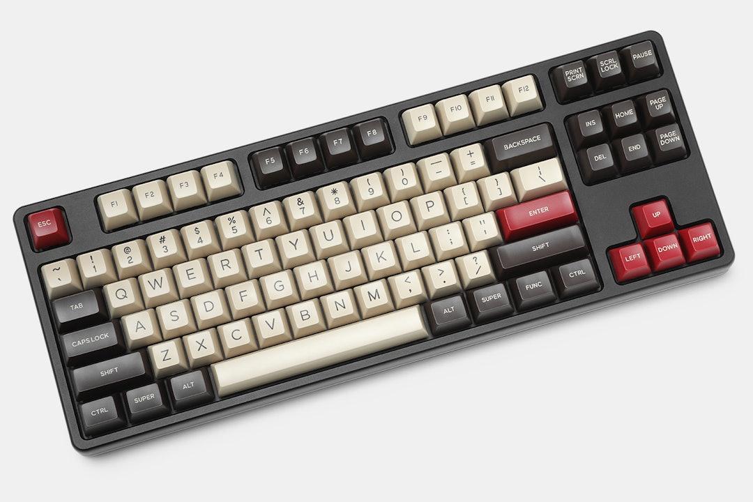 DOMIKEY ABS Doubleshot SA Western Keycap Set