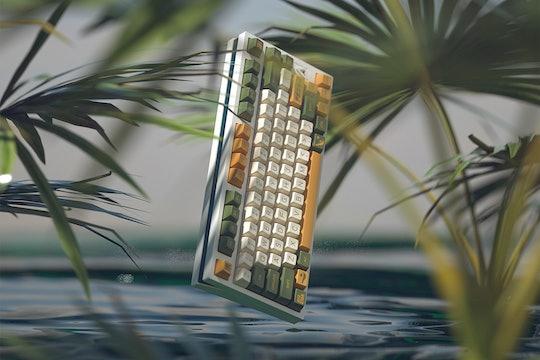 DOMIKEY Avostar ABS Doubleshot SA Keycap Set