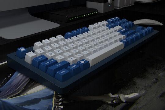 DOMIKEY Knight SA Doubleshot Keycap Set