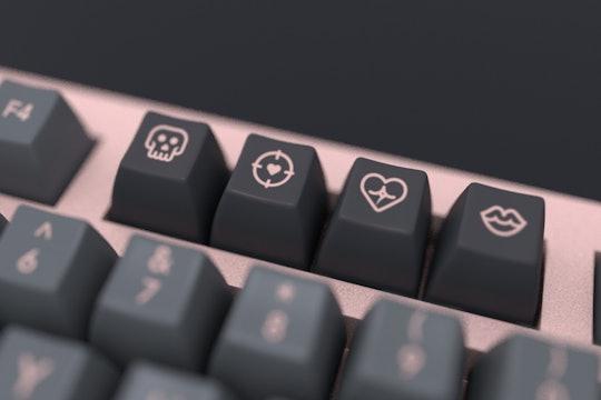 DOMIKEY Villanella SA ABS Doubleshot Custom Keycap Set