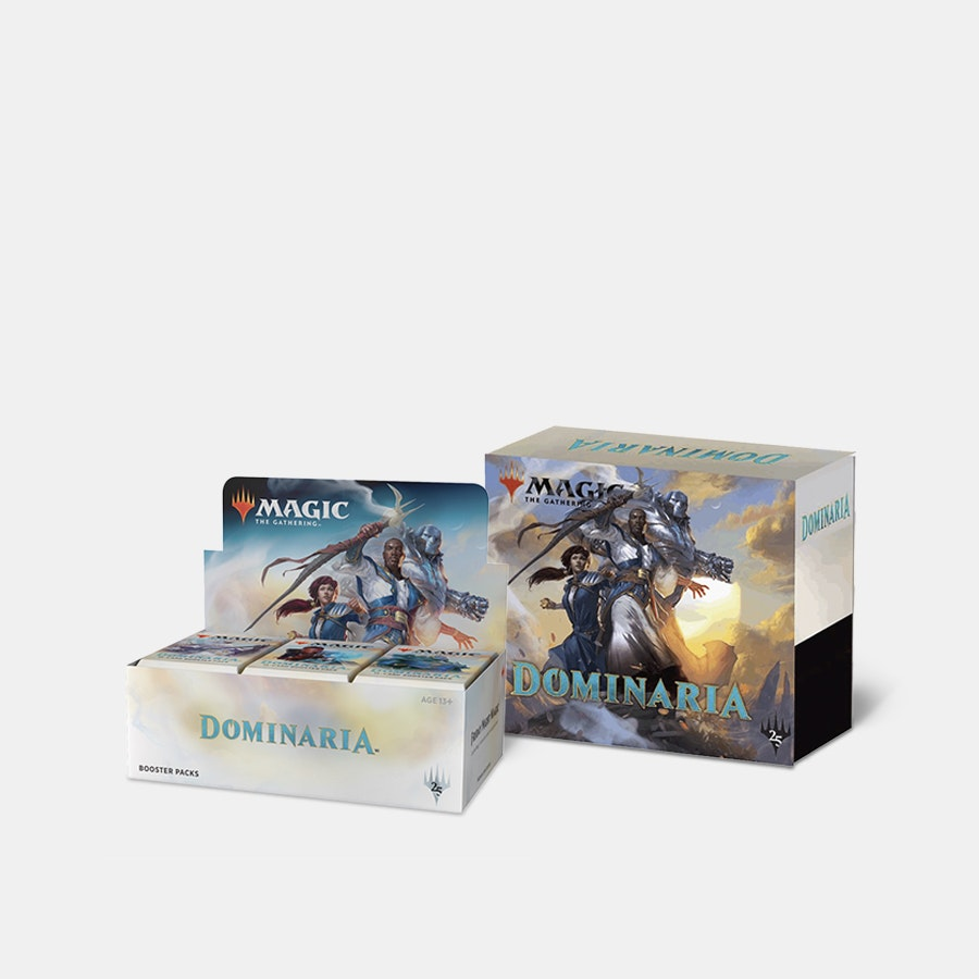 Dominaria Booster Box + Fat-Pack Preorder