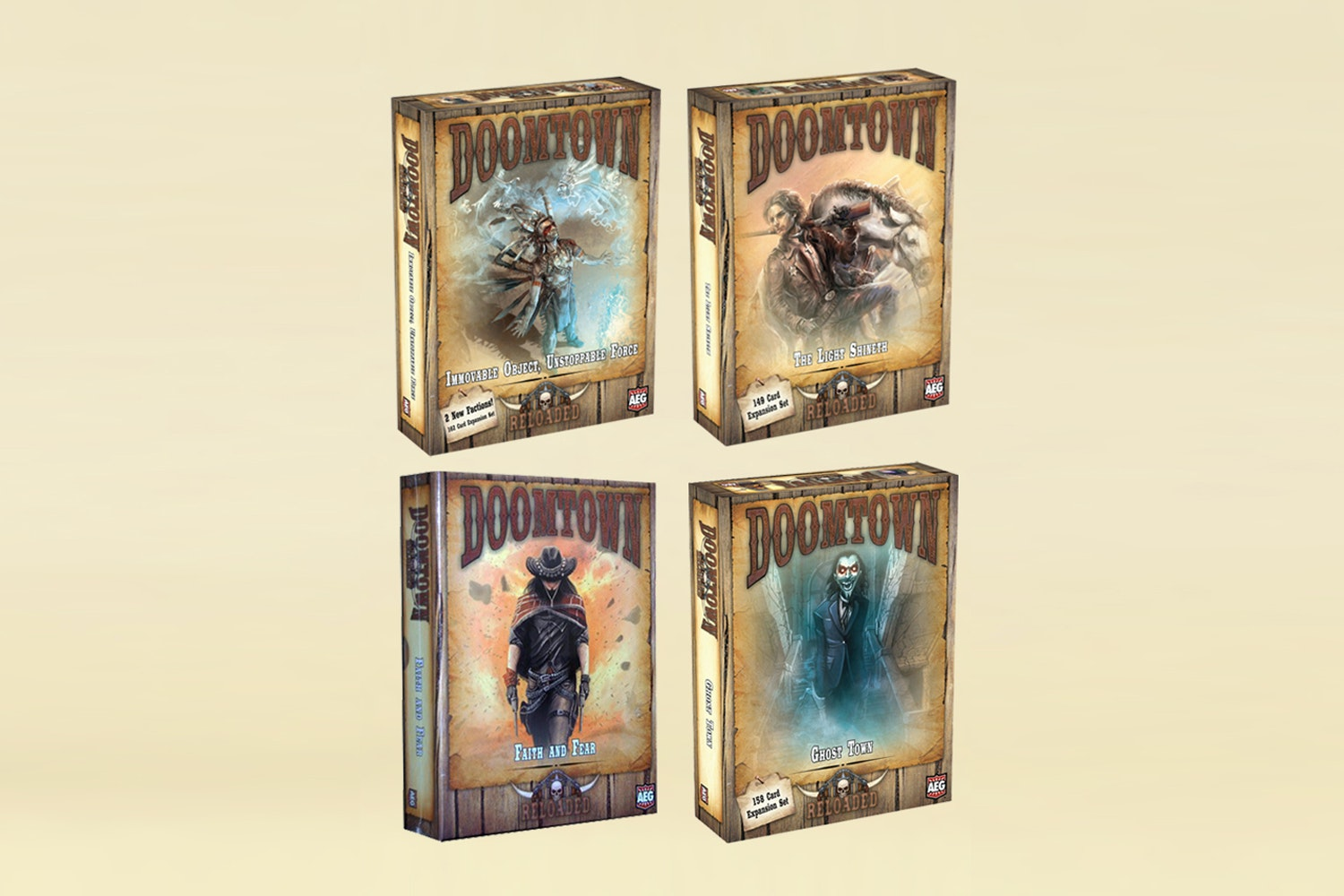 Doomtown: Reloaded Expansions Bundle