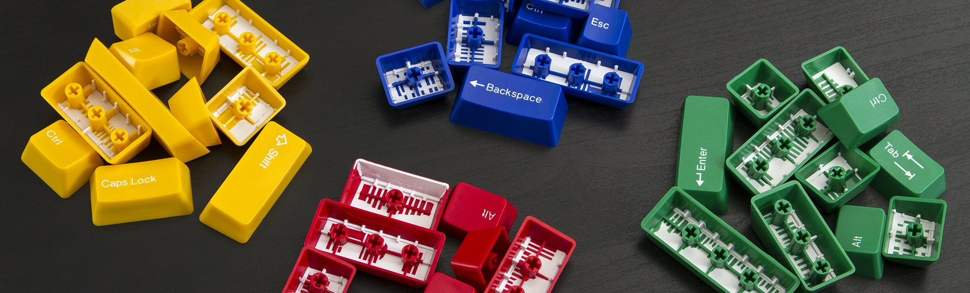 Doubleshot ABS Sculpted Keycaps