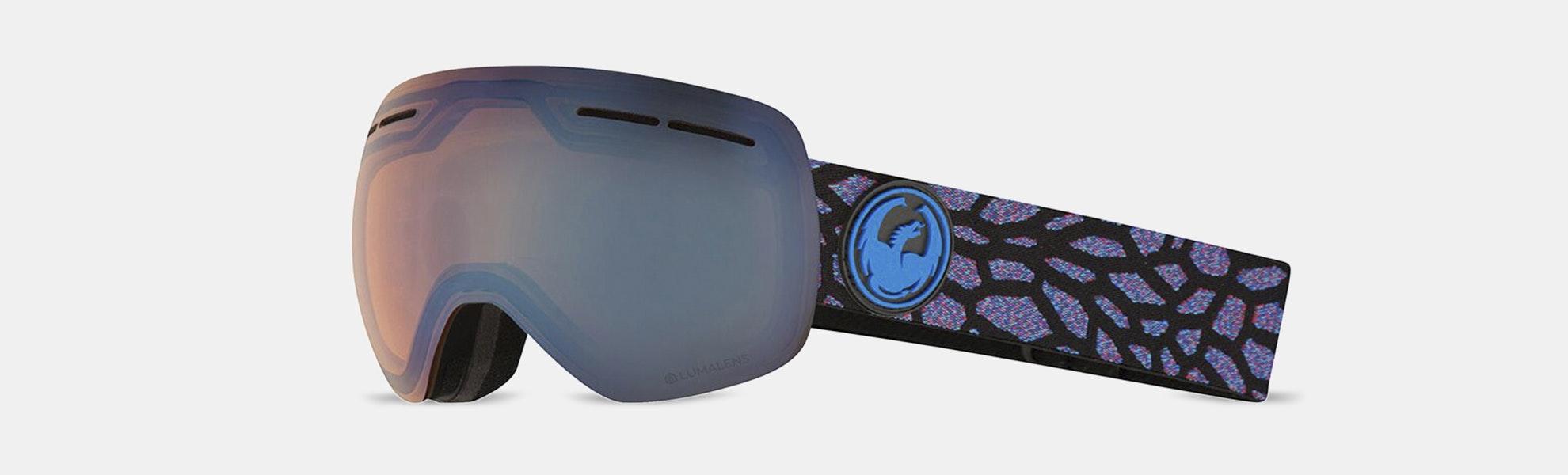 Dragon Alliance X1 & X1S Snow Goggles