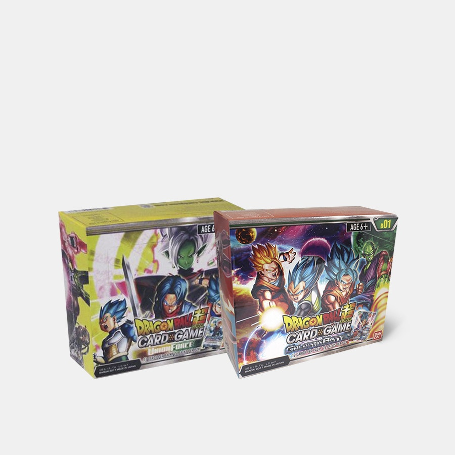 Dragon Ball Z Super Series Booster Box Bundle