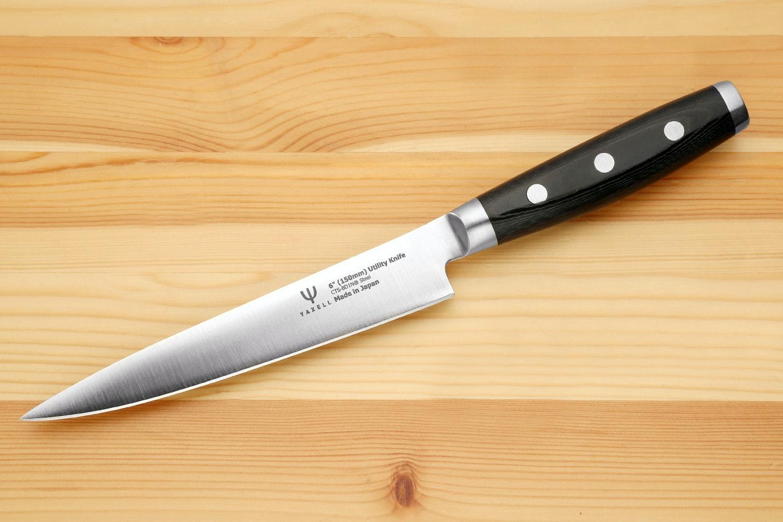 shiki damascus chefu0027s knives from hiro masui in sekijapan