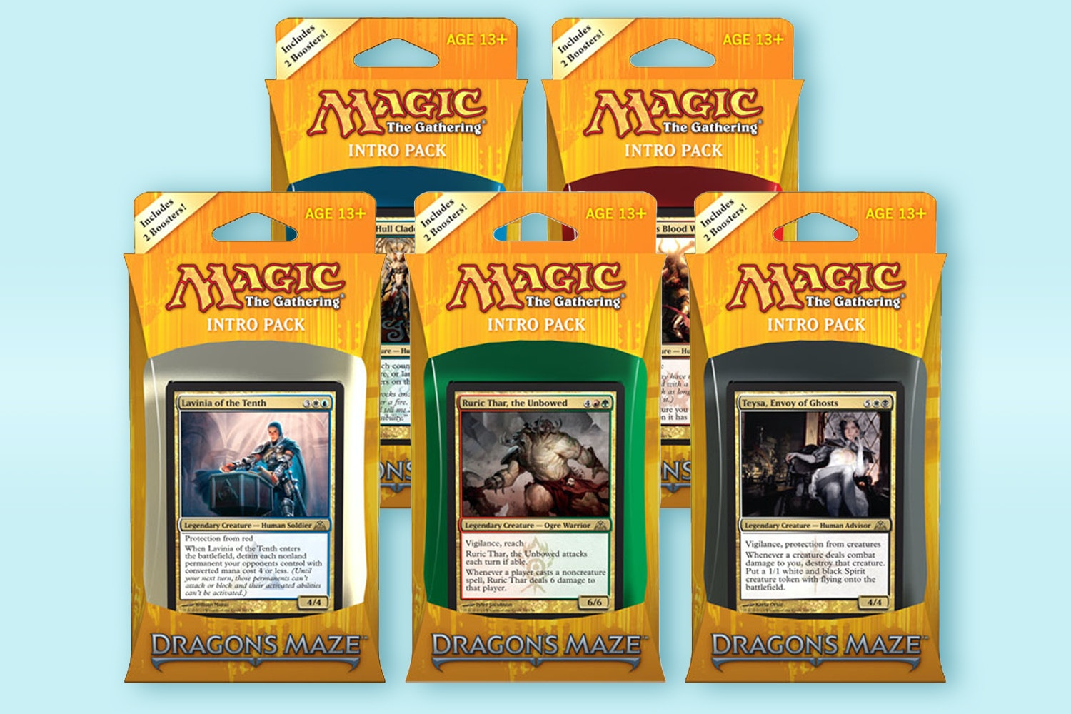 Dragon's Maze Intro Packs (5-Pack)