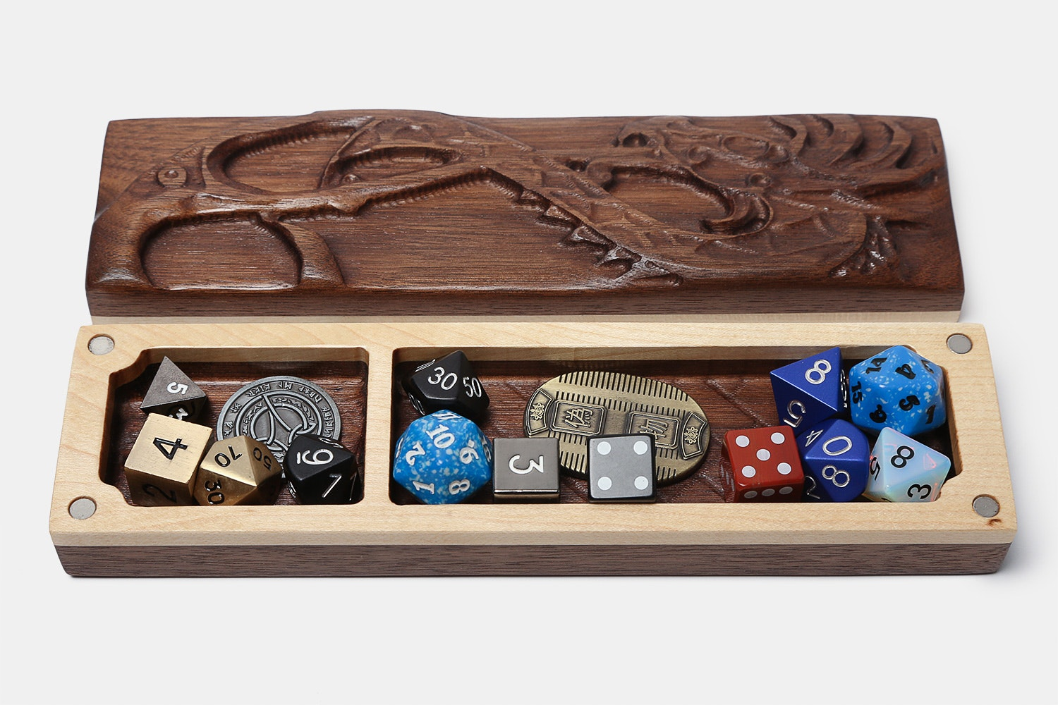 Dragon Sheath Fiery Dice Case