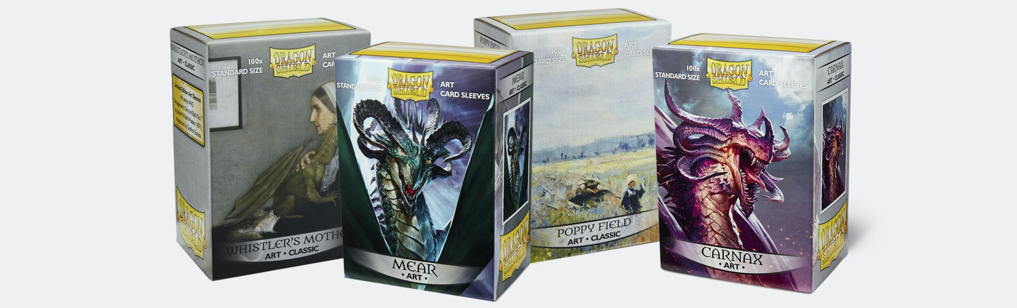 Dragon Shield Limited-Edition Art Sleeves (4-Pack)